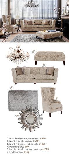 The Hollywood Collection by Furniture Village. Shop the Brand NEW range now.