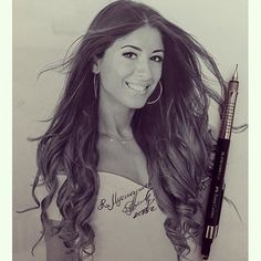 I'm just amazed at how someone can be so talented!  This is a drawing done by the incredible @ruslan_mustapaev_