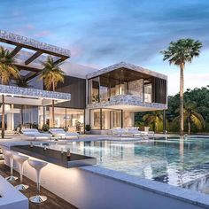 """Luxury Mansions on Instagram: """"This beautiful property is offering 6 bedrooms and 6 bathrooms. Over 16,100 sq.ft. of living space. Listed at €2,700,000"""""""