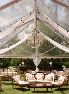 tented wedding lounge place ideas