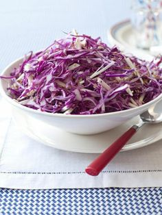 Red Cabbage and Jicama Slaw