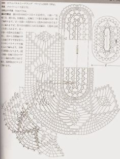 #4_KARA Crochet Oval Table Doily with diagram (part 2 of 2)