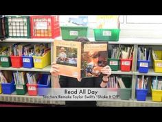"Read All Day : Teachers Remake Taylor Swift's ""Shake It Off"" - YouTube"