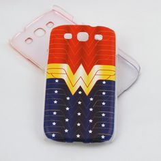 Wonder Woman case for Samsung Galaxy S3  Stars and by ZuolaStudios, $12.99