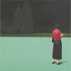 Tim Eitel - Untitled , 2002, Acrylic on canvas.