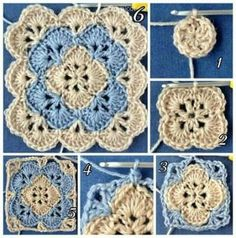 Jan 2020 - Crochet baby blanket easy hooks 51 Trendy ideas a href='/tag/crochet' a href='/tag/baby' Crochet Square Blanket, Baby Afghan Crochet, Granny Square Crochet Pattern, Crochet Squares, Granny Squares, Crochet Stitches Free, Mode Crochet, Crochet Motifs, Beginner Crochet
