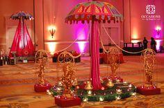 Sangeet, Garba & Mehndi Decor   Occasions By Shangri-La  INdian wedding decor