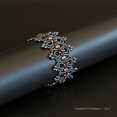 Lacy Clover Ribbon Bracelet from Smadar's Treasure, Smadar Grossman