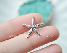 """Pink Coral Starfish Cartilage Piercing Captive Ring Tragus Earring 14 Gauge 1//2/"""""""