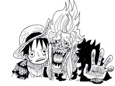 One Piece, Bartolomeo, Luffy