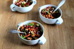 Wild Rice Salad with Pomegranate & Pine Nuts - Earthy Feast