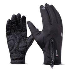 Winter Cycling Gloves Touch Screen Bike Gloves Sport Windproof Mtb Road Full Finger Bicycle Glove Men Woman Black B S Bike Gloves, Cycling Gloves, Mens Gloves, Fleece Gloves, Sierra Leone, Ghana, Seychelles, Office Color, Unisex