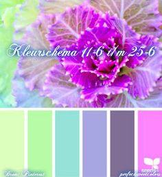PerfectSweetColors: Kleurschema 11-6 t/m 25-6