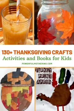 Because of the festivIt's time to prepare for the holiday of generosity- Thanksgiving! Sprinkle some Thanksgiving crafts, Thanksgiving activities, and Thanksgiving book recommendations to amplify the effect! Check out the blog for more details on over 130+ Thanksgiving Crafts, Activities, and Books for Kid. Super fun, super festive, and fit for the holiday this Thanksgiving collection will be your bestfriend this season. Simply pick from this wise array of seasonal crafts and festive activities! Thanksgiving Books, Thanksgiving Activities For Kids, Thanksgiving Crafts For Kids, Holiday Crafts, Fun Crafts, Arts And Crafts, Teen Projects, Diy Projects, Child Love