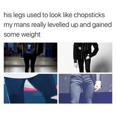Thank god, of course I loved him before but it worried me how skinny he was