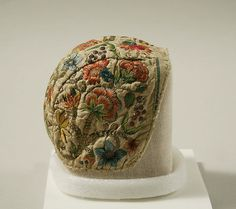 Cap 18th.c. German silk