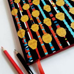 Designed by Arpit Agarwal | Traditional Nagaland Masks Necklace - Pattern Notebook / Rs.259