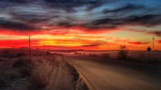 Road Home by Pat Cooper / Country Roads, Celestial, Sunset, Photography, Outdoor, Home, Outdoors, Photograph, Fotografie