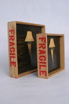 FRAGILE Leg Lamp Art from the movie A Christmas Story by MoFoCo, $20.00