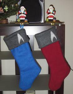Star Trek Stockings