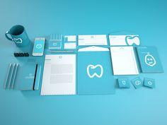 Lara Ribeiro Dental Clinic Re-Branding Dental Clinic Logo, Dentist Logo, Dental Art, Dental Office Design, Dental World, Branding, Brand Identity, Identity Design, Clinic Design