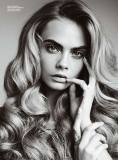 visual optimism; fashion editorials, shows, campaigns & more!: best of beauty: cara delevingne by mario testino for allure october 2014 km
