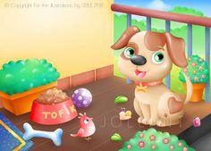 Tofik, the cute puppy by yuki-the-vampire on @DeviantArt