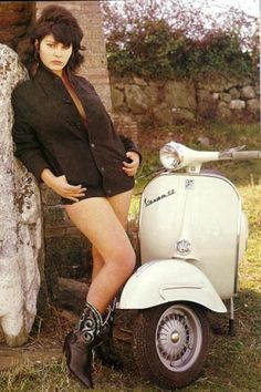 Girls. Vespas. What else?