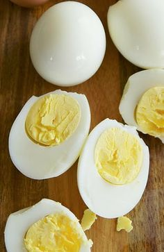 """""""Hard Boiled"""" Eggs in the Oven"""