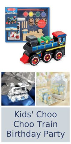 Kids' Choo Choo Train Birthday Party