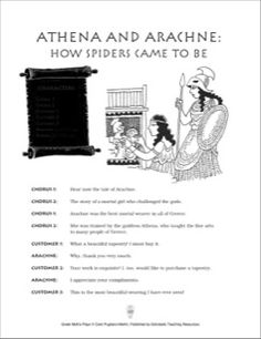 Athena and Arachne: How Spiders Came to Be: Play