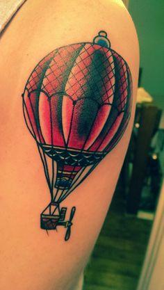 tattoo mongolfiera old school - Cerca con Google