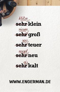 German Language Learning, Language Study, Language Lessons, Learn A New Language, Dual Language, German Grammar, German Words, The Words, German Resources