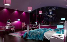 Cool Bedrooms For Teens Girls