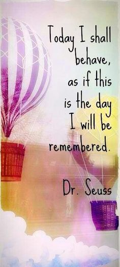 Dr. Seuss. Repinned by http://www.wordsfromdaddysmouth.com.au