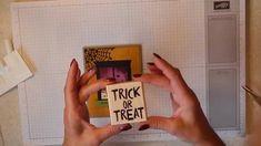 cardmaking video tutorial: Spooky Scenes through die cut window frame ...