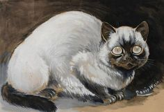 "Louis Wain - ""I am Siamese if you please"""