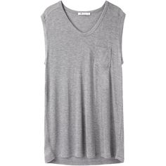 T by Alexander Wang Classic Muscle Tee   I wear these t-shirts all the time with leggings, sweatpants, or boxers. They are great on their own or under a sweatshirt.