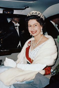 Queen Elizabeth II 1965   - TownandCountryMag.com