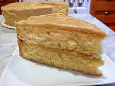 Best Caramel Cake INGREDIENTS 3 sticks butter 3 cups sugar 5 eggs 3 cups all-purpose flour teaspoon salt teaspoon baking . Butterscotch Cake, Caramel Frosting, Butter Frosting, Food Cakes, Cupcakes, Cupcake Cakes, Southern Caramel Cake, Susan Recipe, Icing Ingredients