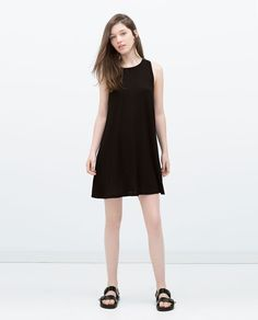 Image 1 of SHIFT DRESS from Zara