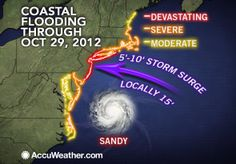 10 Awesome High-Res Hurricane Sandy Maps, Trends - The WeatherMatrix Blog Weather Blog
