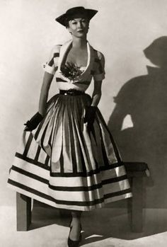 50ties ~ great dress!
