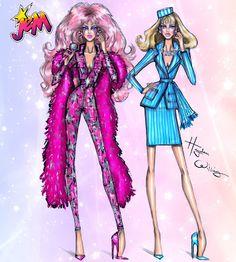 Hayden Williams Fashion Illustrations: Jem 30th Anniversary by Hayden Williams: Jem/Jerrica