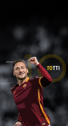 Francesco Totti - Roma Football - Soccer Creative Art - wallpaper