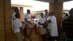 Les éléves du Lycée Technique d#Aneho