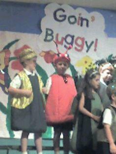 Wyatt at school play