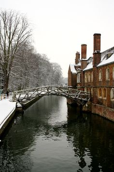 university of cambridge in the winter. so what does it take to get in like a 3.0 gpa