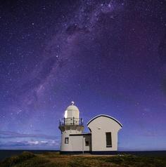"500px / Photo ""Milky Way Lighthouse"" by Josh Chislett"