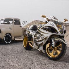 Chevy truck & Hybusa